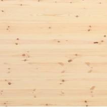 Grenen massief 3 lagen plaat met doorgaande lamel